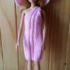 S11 – One Shoulder Strap Dress (Pink)