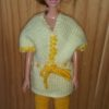 S1057a – Orange Tights with Yellow and Orange Top