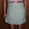 SV701.1 – Basket Weave Light Green Skirt