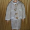 S913 -Beige Skirt and Jacket