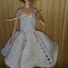 S984.1 – Beige Strapless Dress