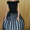 S333.1 – Black and Grey Dress