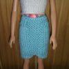 S7 – Blue Panel Skirt