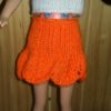 S587.1 – Orange Frilled Skirt