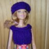 S386d – Blue Top and Beret