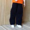 S615.1 – Black Knit Trousers