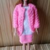 BB305 – Pink and White Dress with Jacket