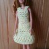 BBC020 – Yellow Crochet Dress