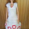 BIM002 – White Heart Dress